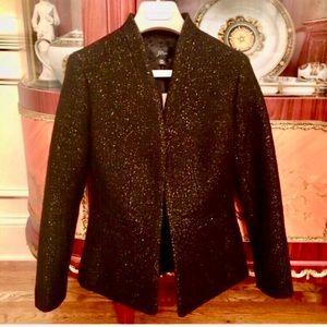 J.Crew wool blend Shimmer Blazer